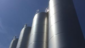 tanques almacenamiento aceite