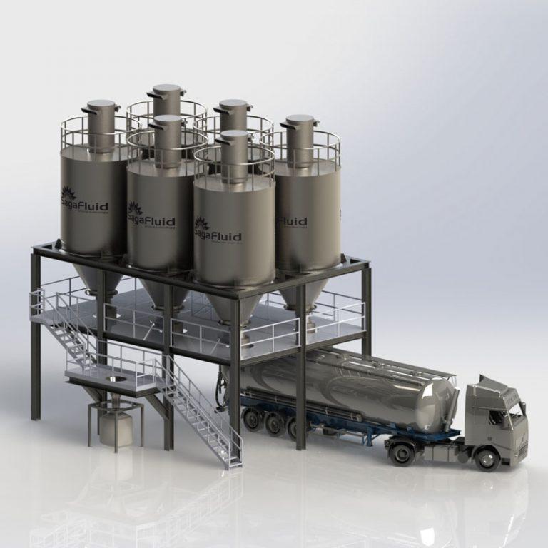 descarga de cisternas