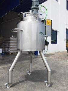 Cosmetic grease melter supply