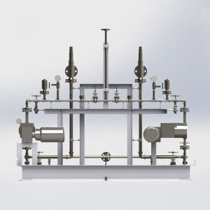 Instalación de tubería, válvulas e instrumentación