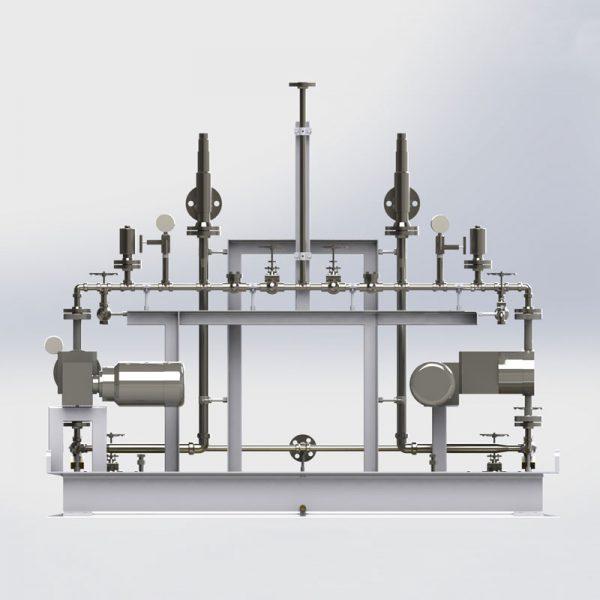 instalación tubería