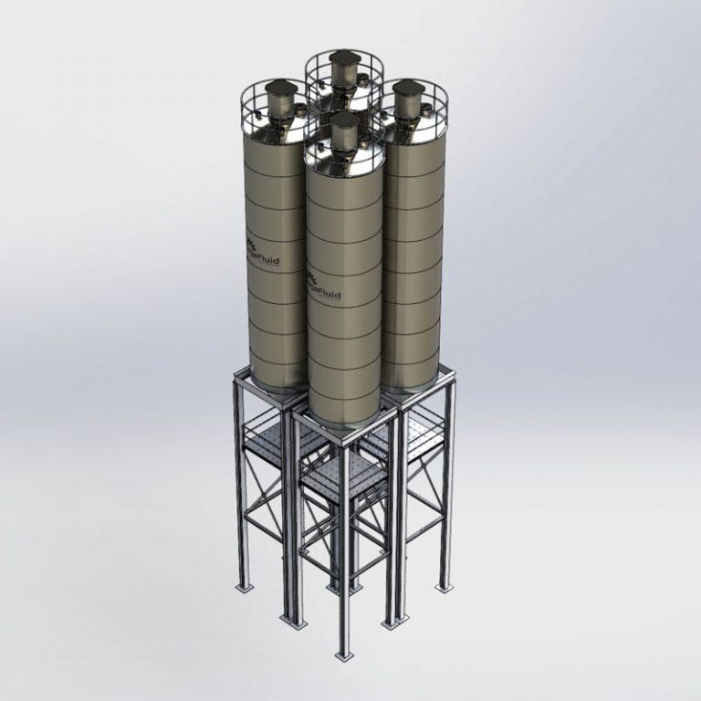 silos almacenamiento sólidos