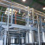instalación planta fabricación químicos