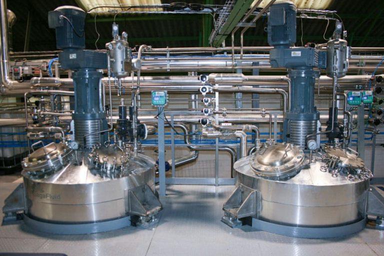 Instalación completa para fabricación de productos químicos