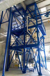 Instalación completa para formulación de productos sólidos