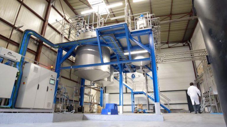 Planta para fabricación de detergentes en Francia